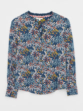 Load image into Gallery viewer, WHITE STUFF JOAN JERSEY SHIRT BLUE