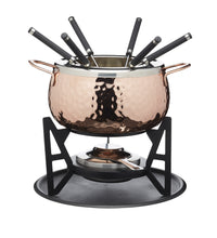 Load image into Gallery viewer, MASTERCLASS COPPER FONDUE SET