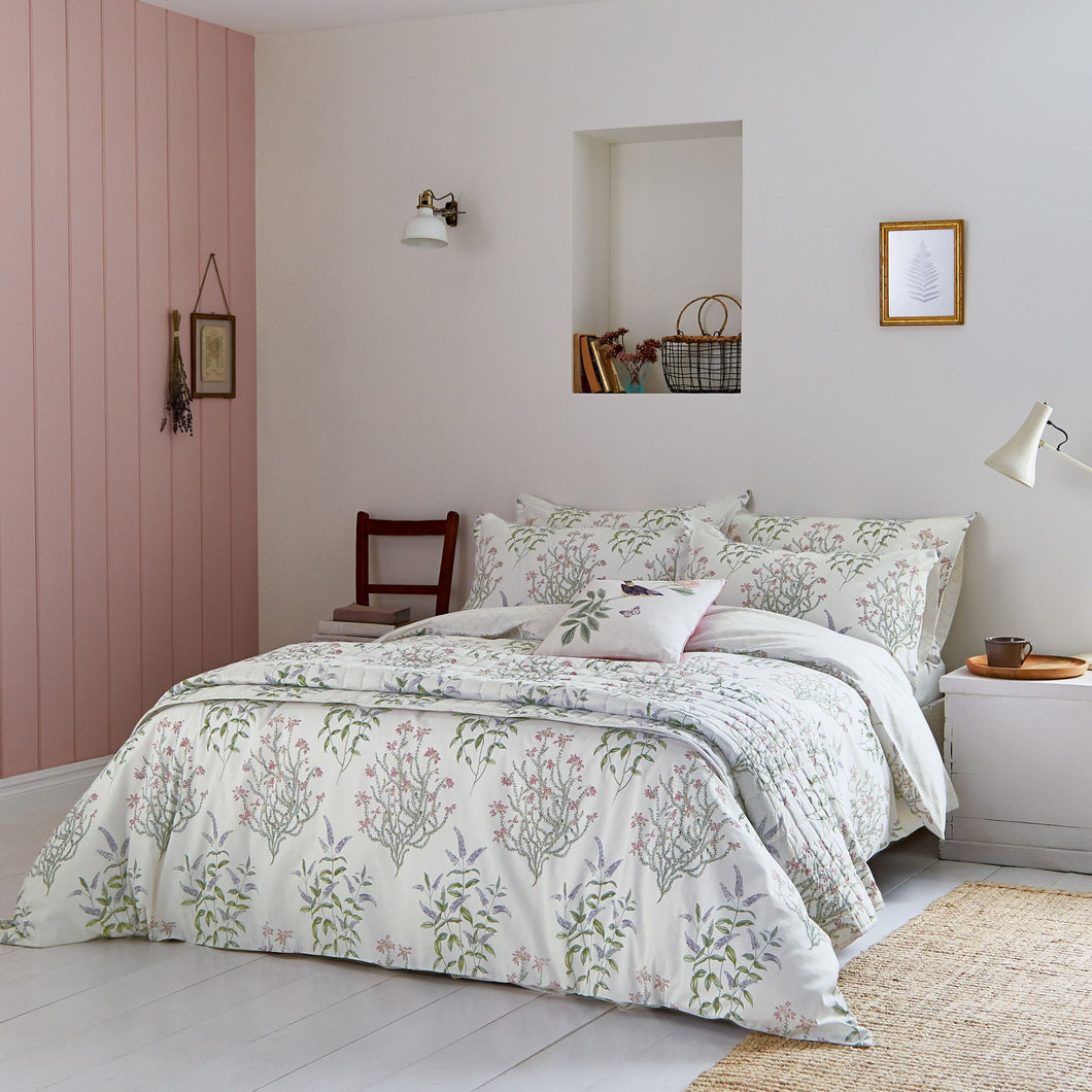 SANDERSON PEVERIL KING SIZE DUVET COVER SET