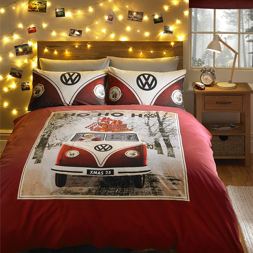 CATHERINE LANSFIELD HO HO HO CHRISTMAS SINGLE DUVET COVER