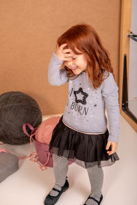 BABYBOL DRESS & TIGHTS SET