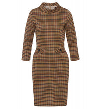 Load image into Gallery viewer, MORE & MORE <BR> Plaid Jersey Dress <BR>