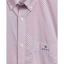 Load image into Gallery viewer, GANT Regular Fit Micro Dot Weave Print Shirt