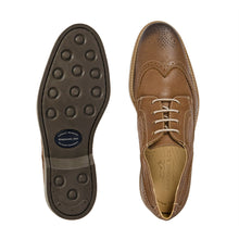 Load image into Gallery viewer, ANATOMIC TUCANO MENS COGNAC LEATHER BROGUES