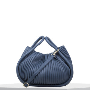 Handbag Pleaty (denim blue)
