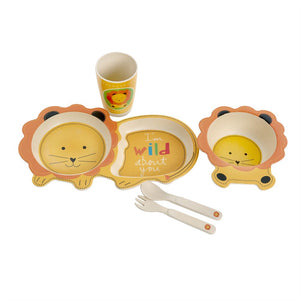 LION BAMBOO KIDS 5PC SET