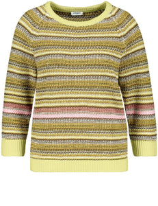 GERRY WEBER <BR> Striped Knit <BR> Citrus <BR>