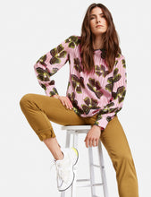 Load image into Gallery viewer, GERRY WEBER <BR> TOP <BR> Pink & Khaki <BR>