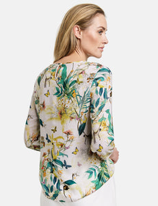 GERRY WEBER <BR> Top <BR> Jungle Print <BR>
