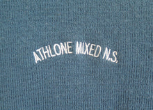 Load image into Gallery viewer, ATHLONE MIXED NATIONAL <BR> Crested Jumper, size 40 <BR> Teal <BR>