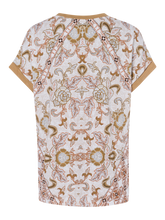 Load image into Gallery viewer, OLSEN <BR> Short Sleeve Tee Shirt <BR> Sand <BR>