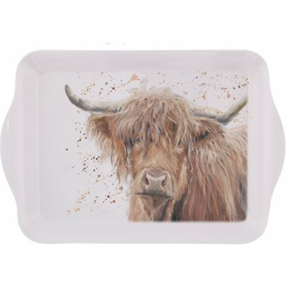Bonnie Highland Cow Small Mug Tray Bree Merryn