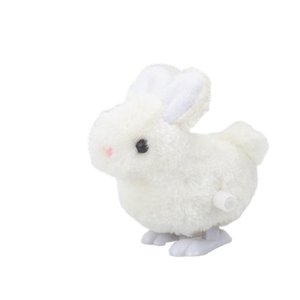 Wind-up Bouncing White Rabbit