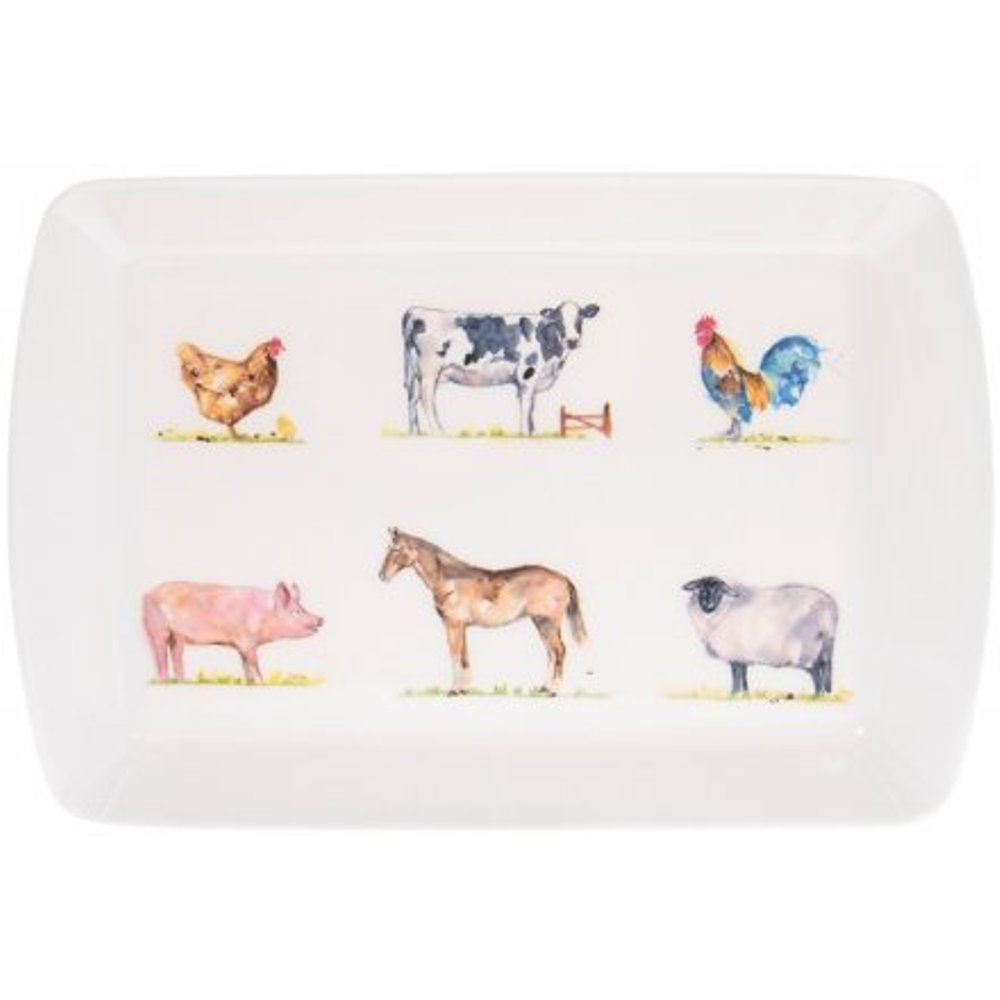 Country Life Farmyard Small Mug Tray