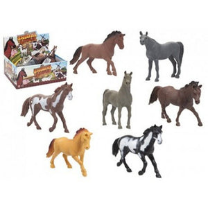 10 x Animal Lodge Assorted Horse Toys in Box