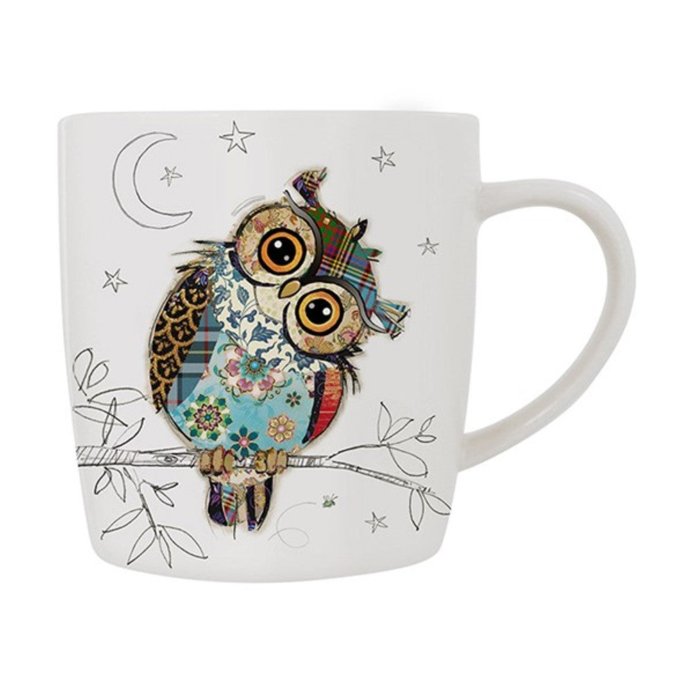 Owen Owl Fine China Mug by Kooks