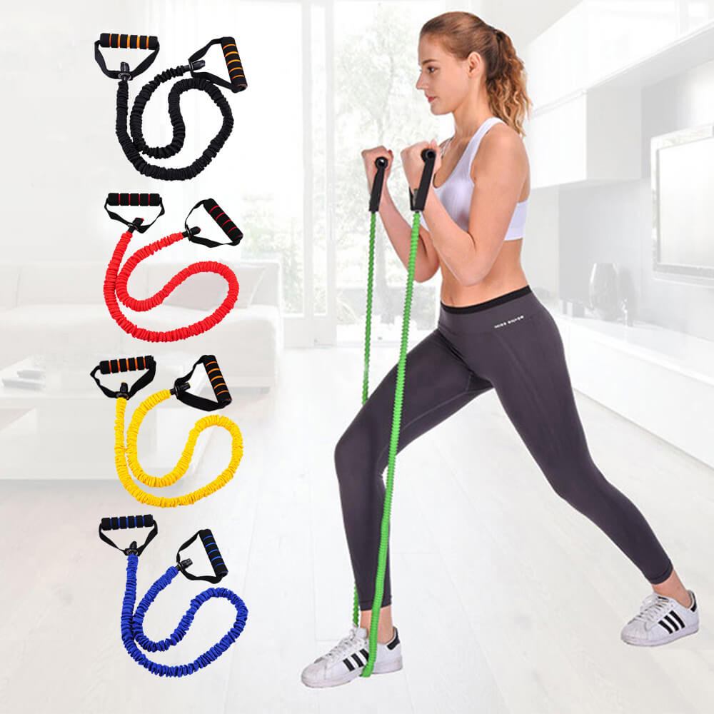 Resistance Bands With Handles - 5 Pack