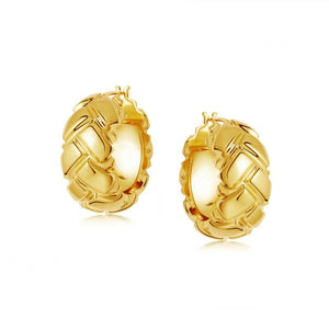 ADARA Gold Hoop Earrings