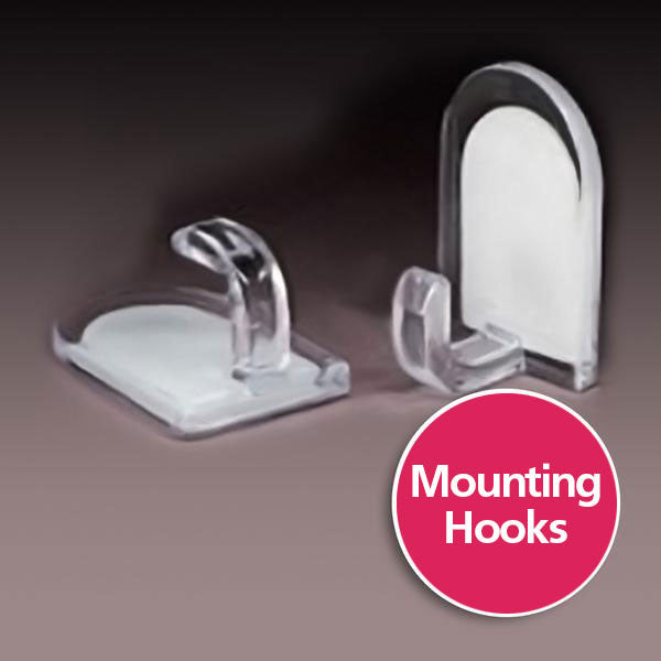 Plastic Bag Mounting Hooks. FREE Shipping!