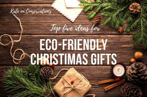 Kate on Conservation - Eco-friendly Christmas Gifts featuring That's Wild Prints