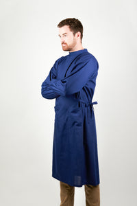 Navy Surgical Gown