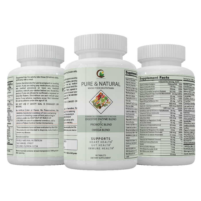 Pure & Natural Whole Food Multivitamin