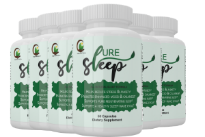 Pure Sleep All Natural Sleep Supplement