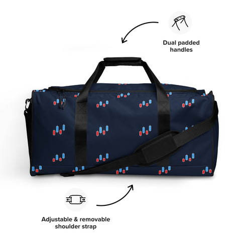 Stock Market Candlesticks - Duffle bag