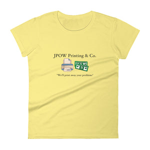 JPOW Printing & Co. - Women's short sleeve t-shirt - Multiple Colors Available