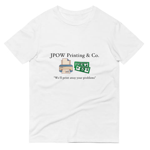JPOW Printing & Co. - Men's Short-Sleeve T-Shirt - Multiple Colors Available