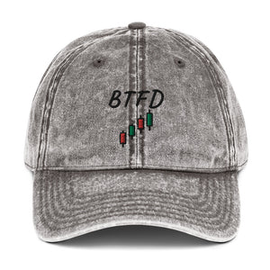 BTFD - Inspired By @StockCats - Vintage Dad Cap