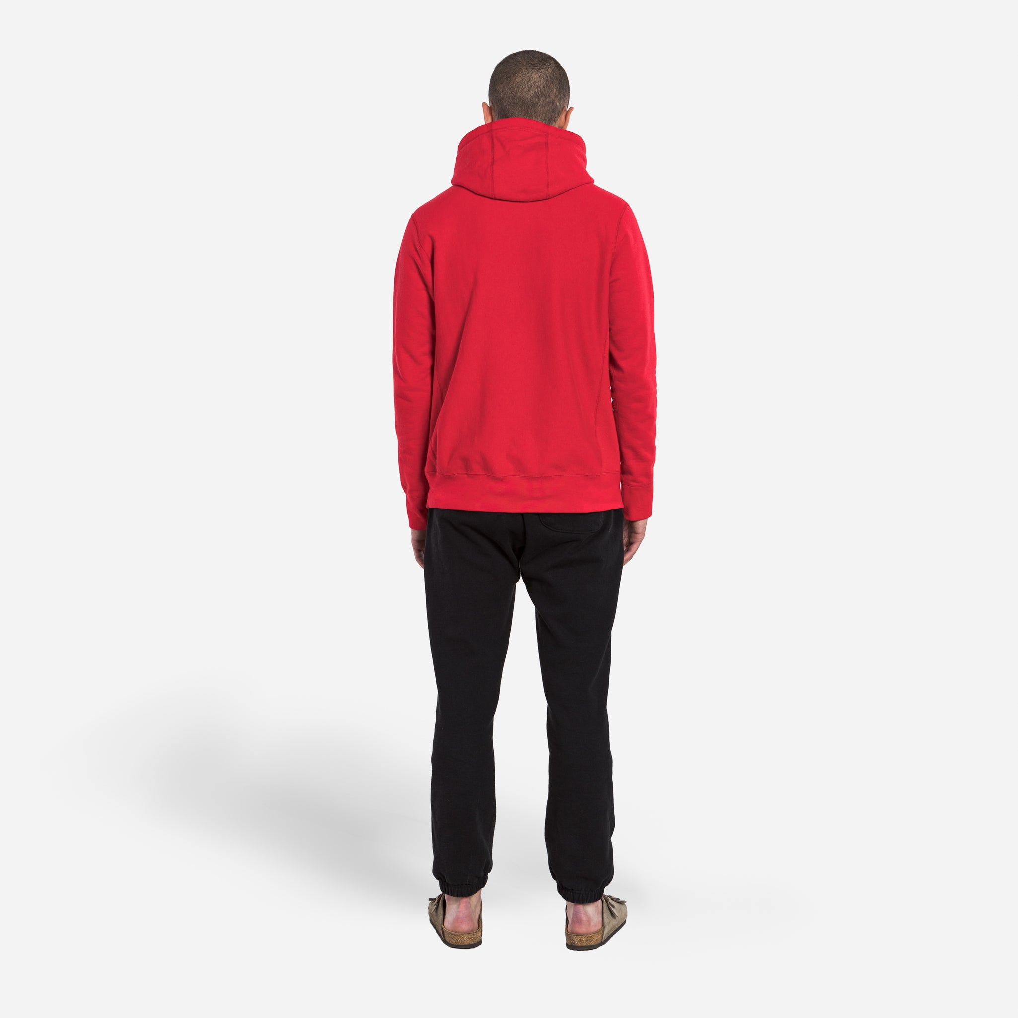 Hooded Sweat - Red