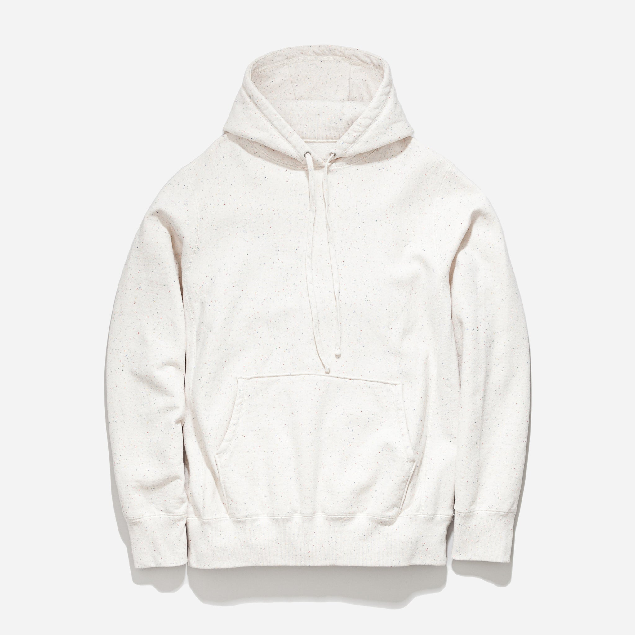 Hooded Sweat - Ecru Supreme