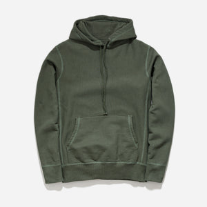 Hooded Sweat - Olive