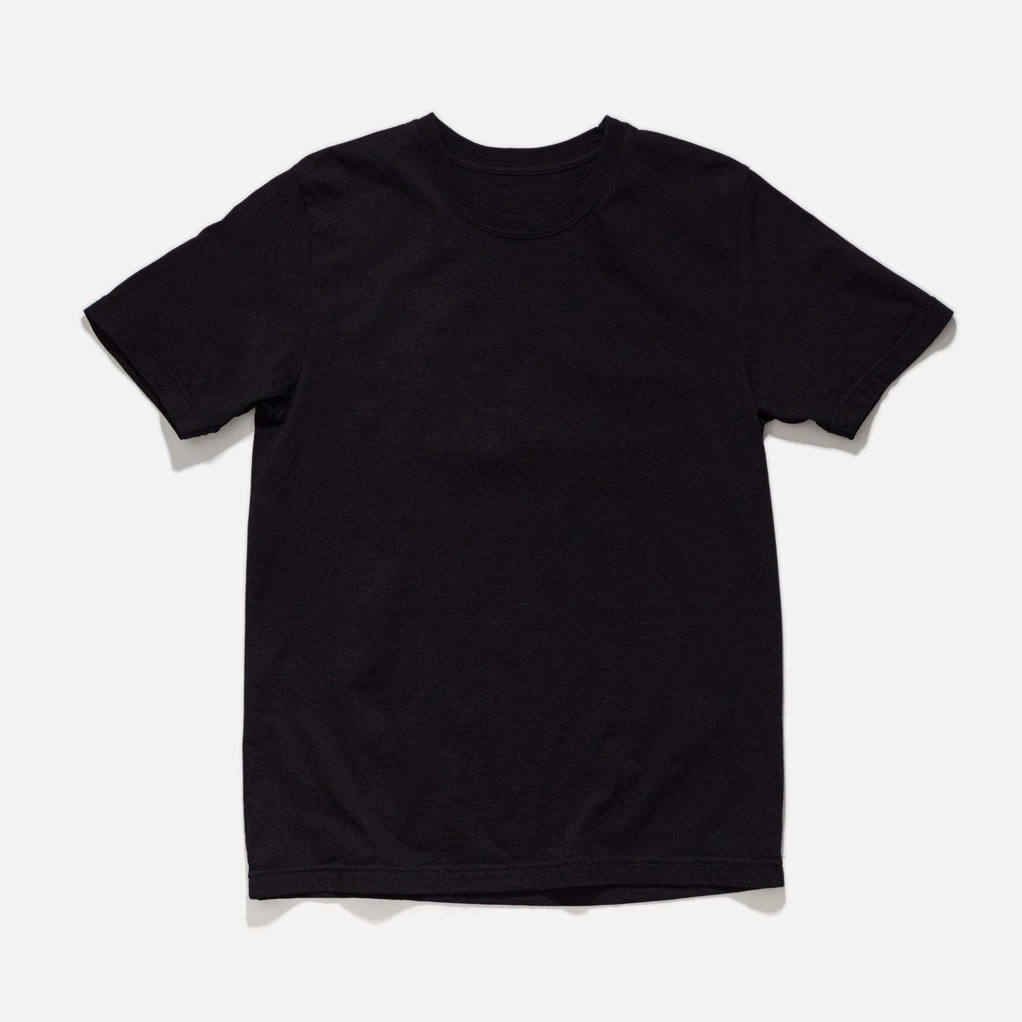 Regular Fit Tee - Black