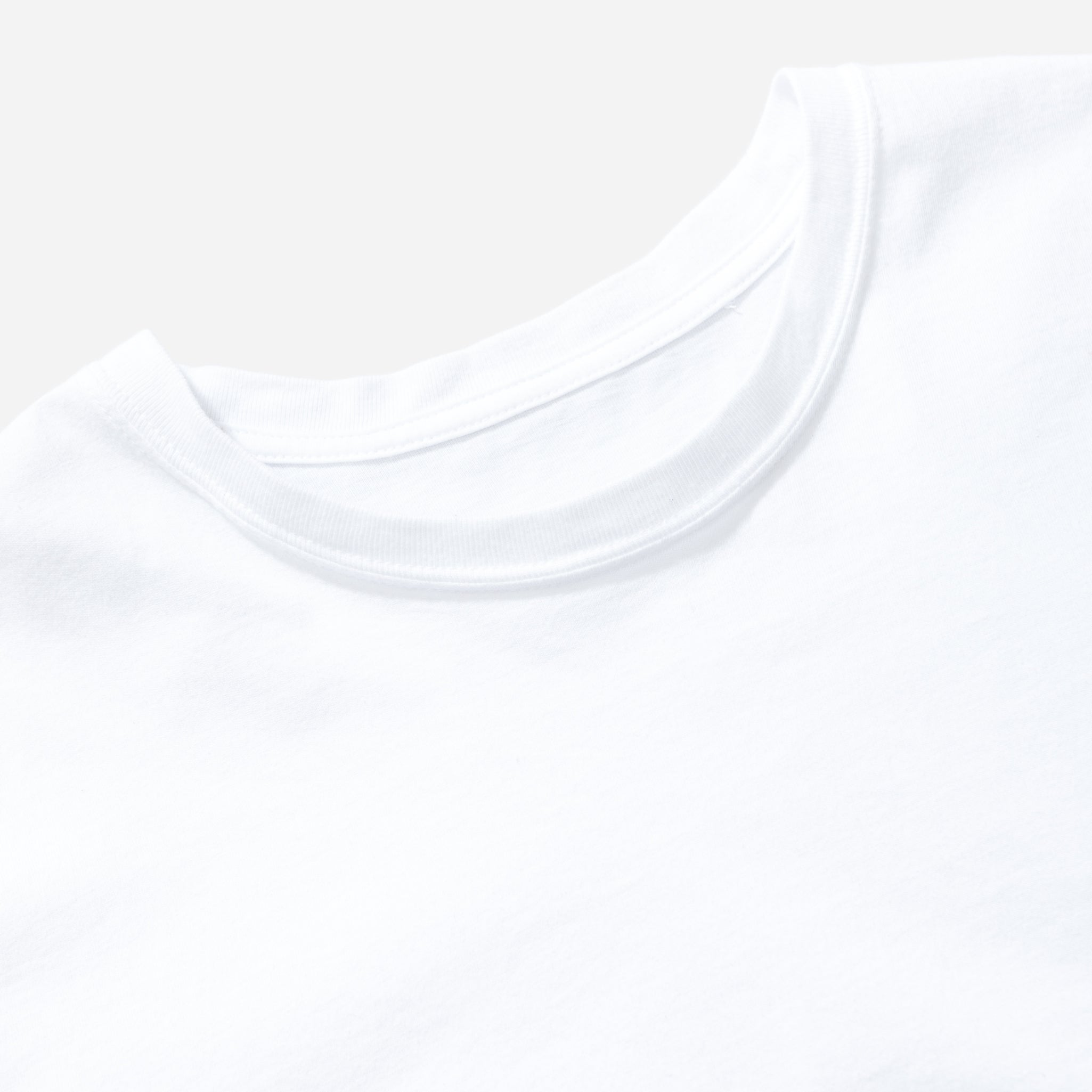 Regular Fit Tee - White
