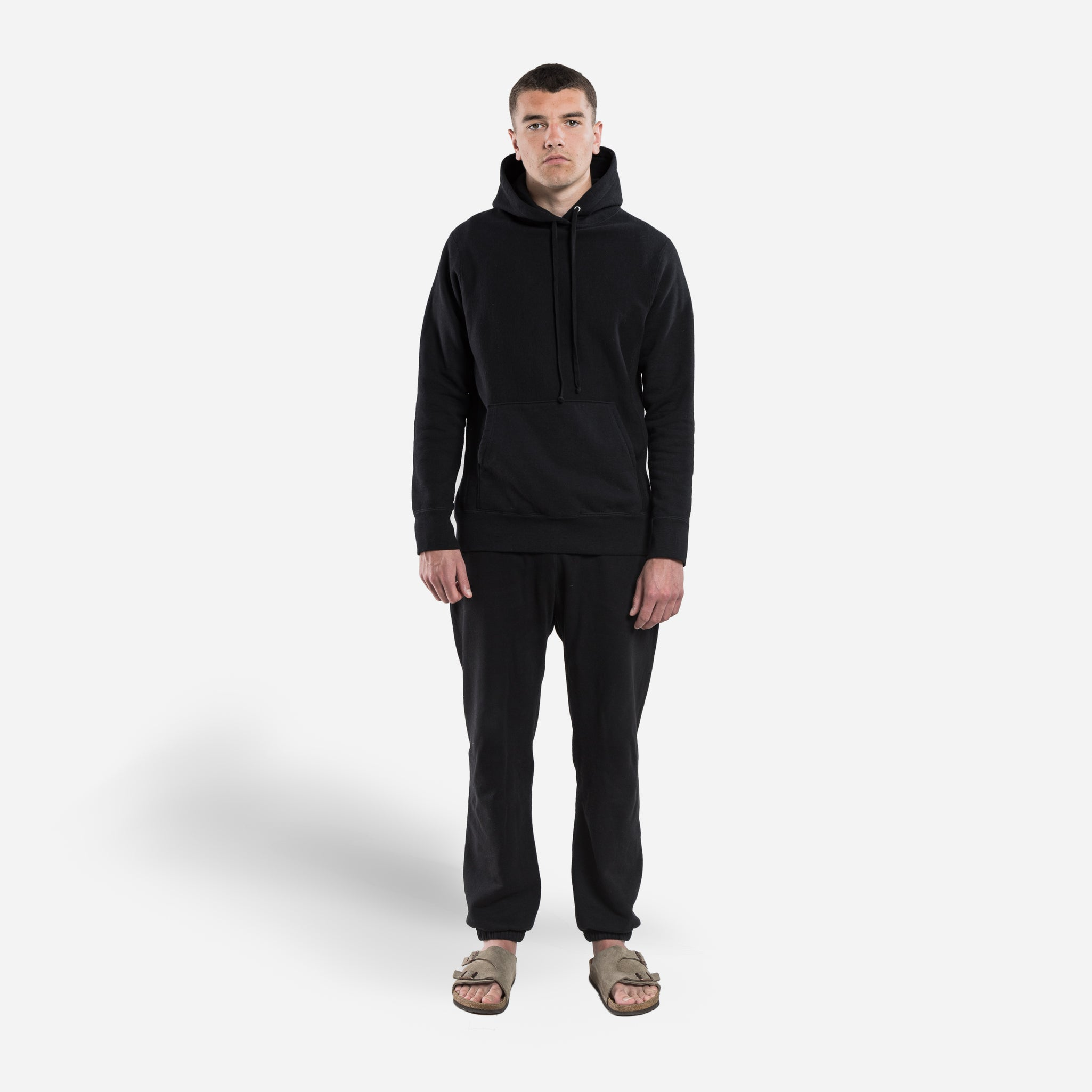 Hooded Sweat- Black