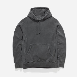 Hooded Sweat Pigment Dye - Charcoal