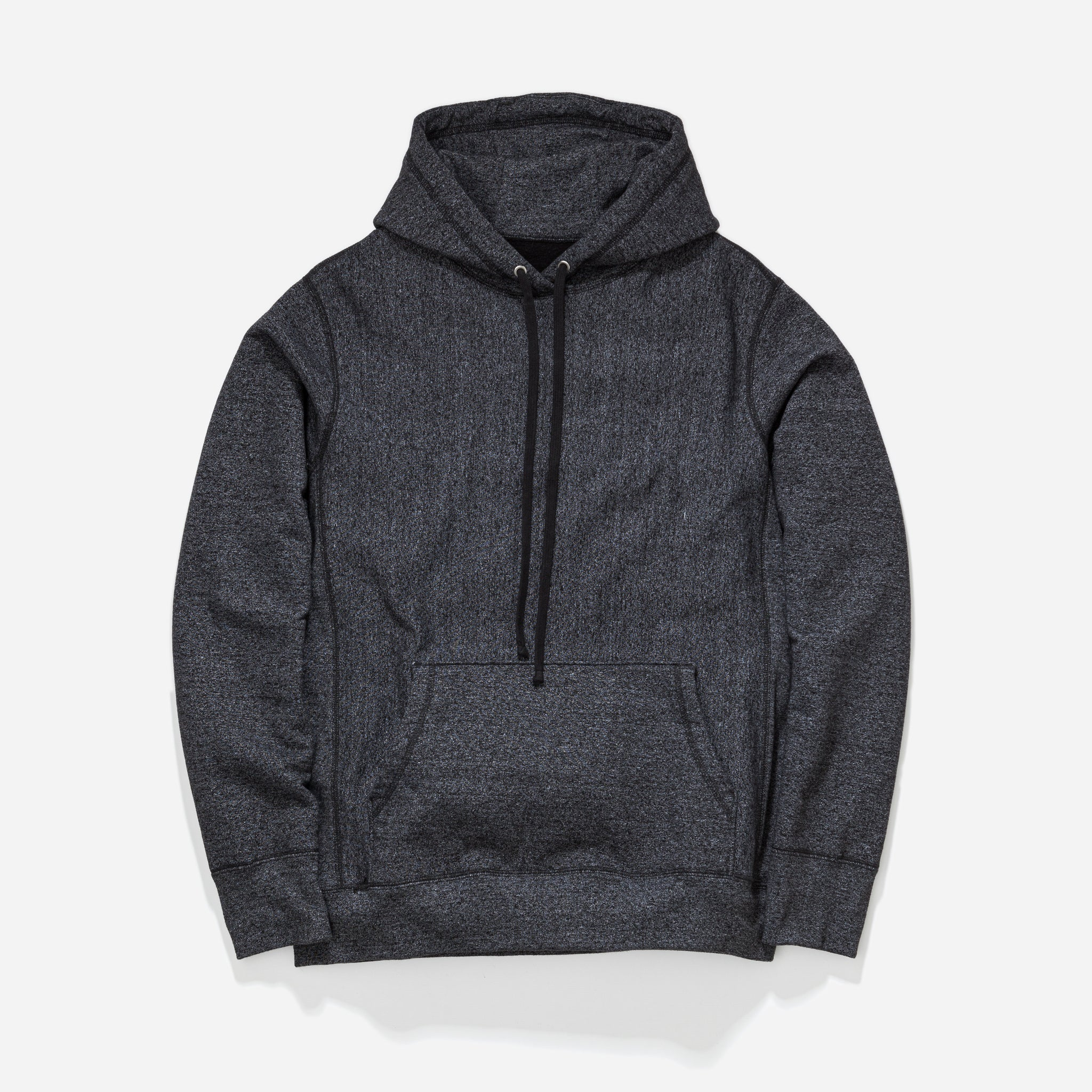 Hooded Sweat - Dark Grey Speckle
