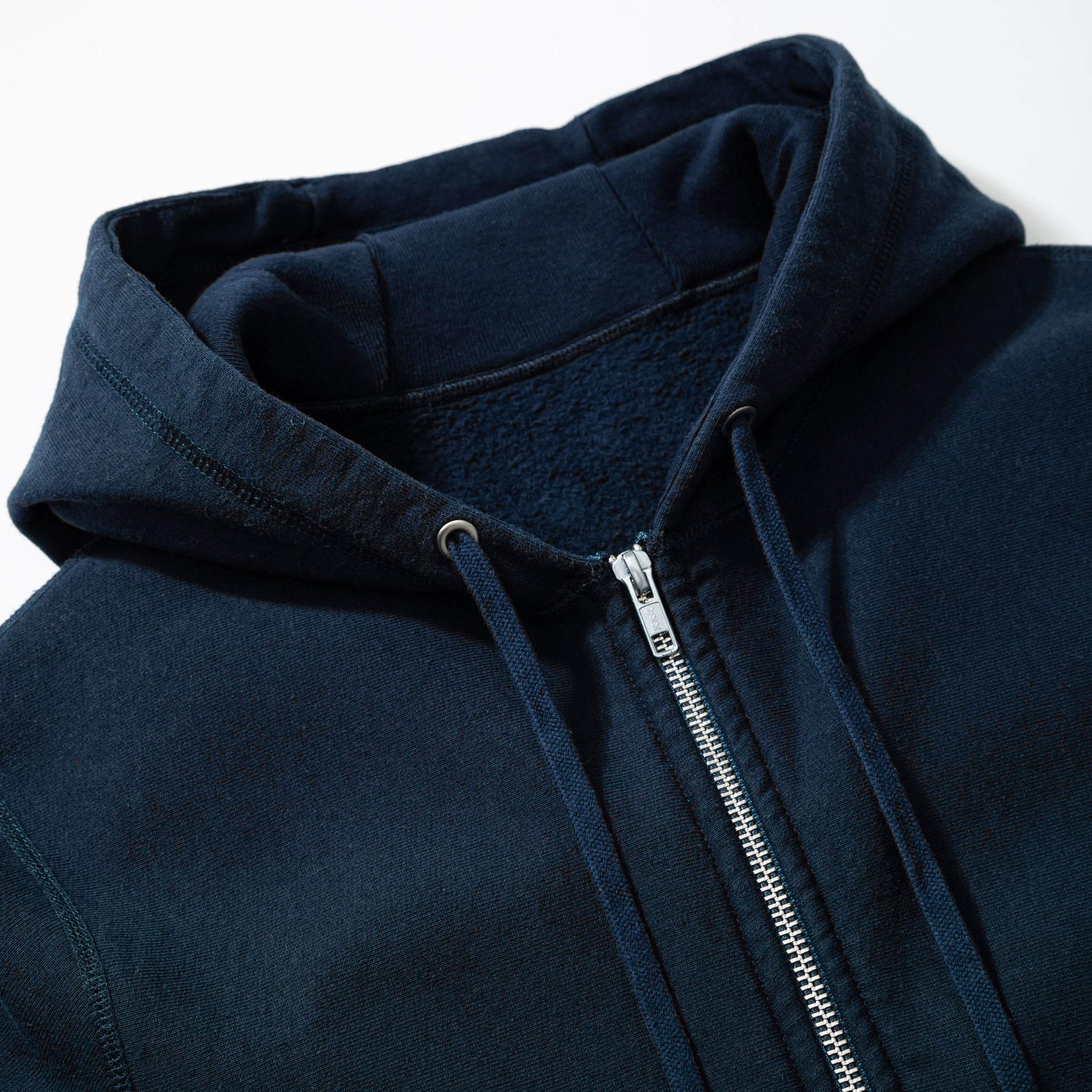 Zip Hooded Sweat - Navy