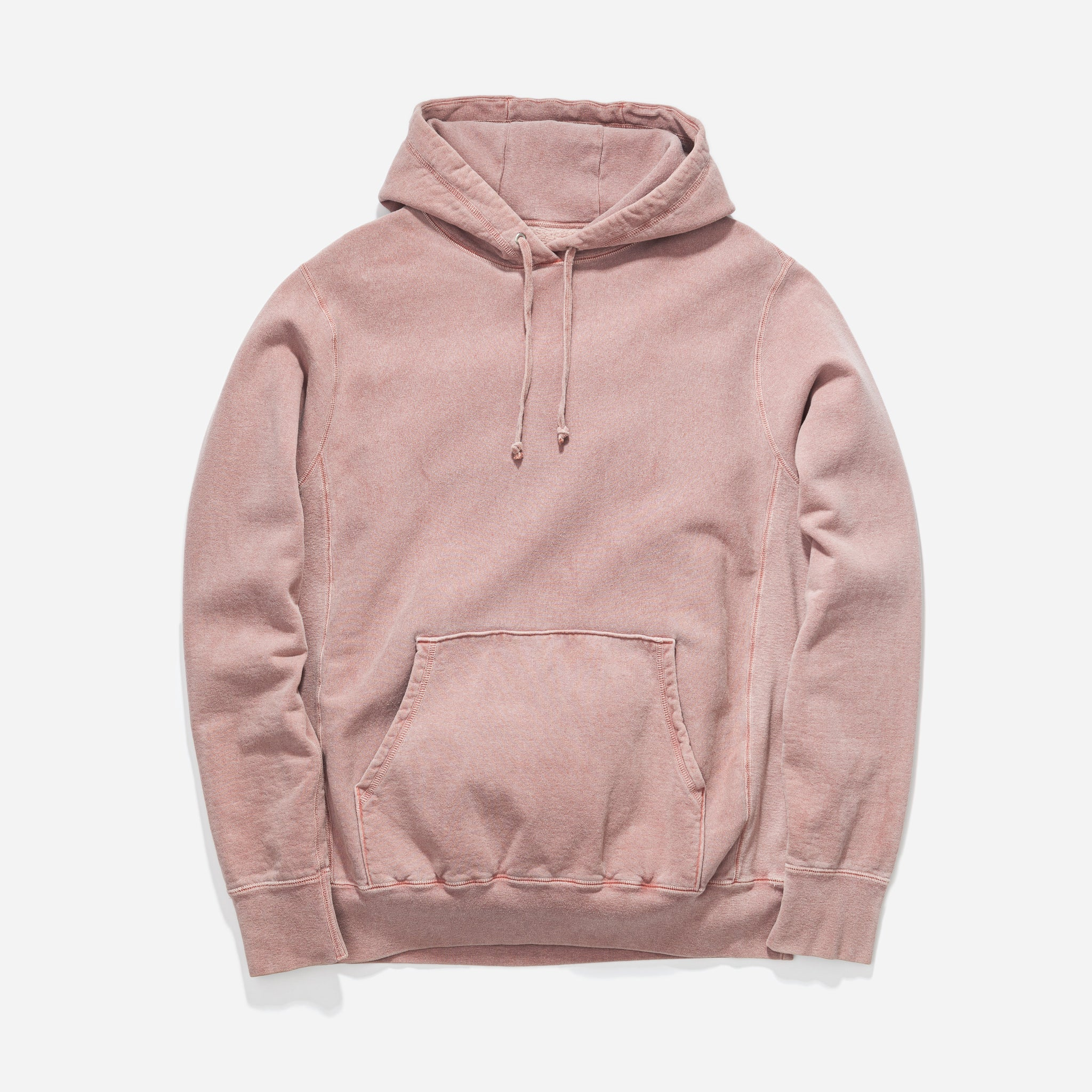 Hooded Sweat Pigment Dye - Rose