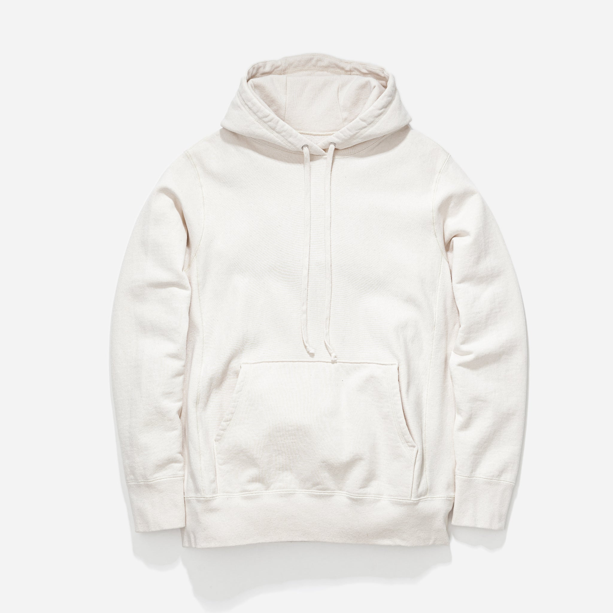 Hooded Sweat - Ecru