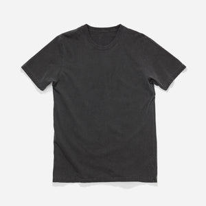 Longer Fit Tee - Faded Black