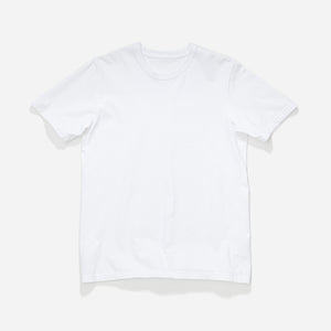 Longer Fit Tee - White