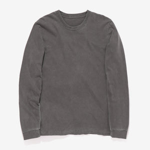 Long Sleeve Heavy Tee - Charcoal