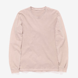 Long Sleeve Heavy Tee - Dusty Rose