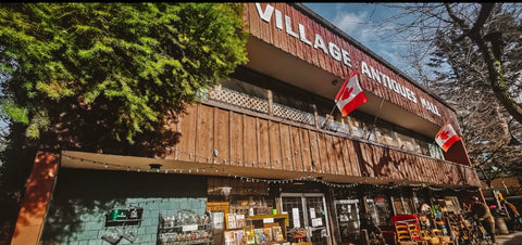 Man Cave Gifts & Collectibles inside Village Antiques Mall - Fort Langley BC