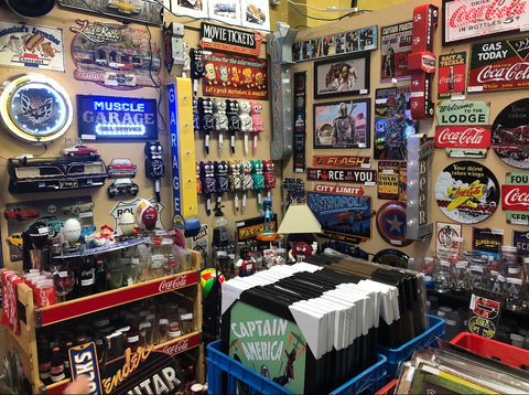Man-Cave Gifts & Collectibles - our booth