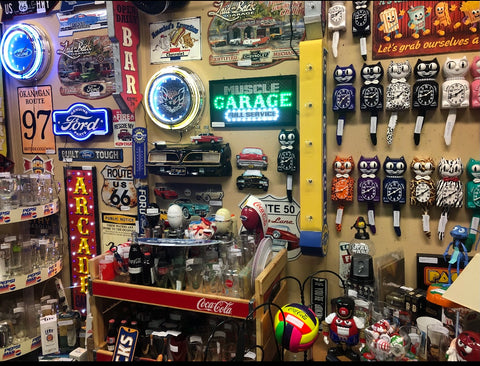 Man Cave Gifts & Collectibles Inside our booth