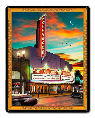 Larry Grossman Hollywood Theatre Sign